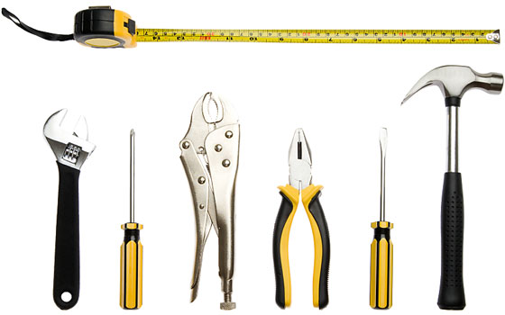 basic do-it-yourself tools